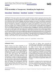 Turner et al 2008 Invisibility to Transparency ES-2008-2405