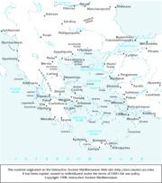 GreeceMapslist  Thebae  Thebes Delphi Pella Amphipolis