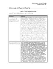 hum 176 mass media worksheet