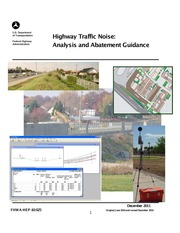 FHWA _2011_ Highway Traffic Noise Analysis and Abatement Guidance