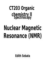 nmr Lecture series 1