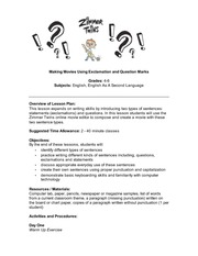 Exclamation marks_Lesson Plan