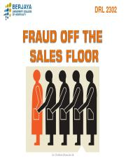 LP chap 4 Fraud off Sales Floor Jan 16