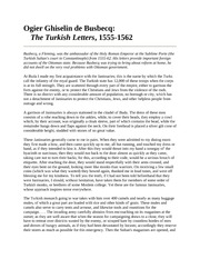 The Turkish Letters 1555-1562