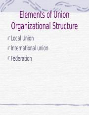 unionstructure.ppt