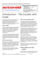 1 ActionAid on Free Trade
