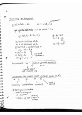 Interference for Regression Notes
