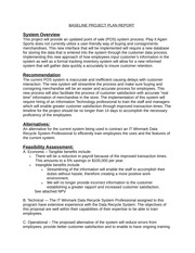 ITM 320 Group Project BASELINE PROJECT PLAN REPORT