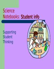 Science Notebook ppt .ppt