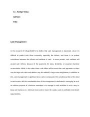 Foreign-cash management.docx