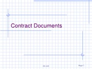 5 - Contract Documents