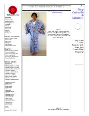 HOW TO WEAR YUKATA #3 - Go Japan Go