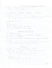 Chapter 8,9 Practice Problems