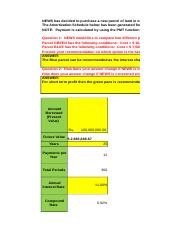 Financial management accounting 503 final assignment