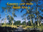 Country case study