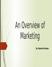 An Overview of Marketing.pptx