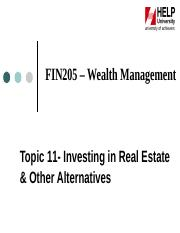 Topic_11_-_Investing_in_Real_Estate_and_other_Alternatives