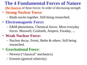 Lecture01 - Fundamental Forces