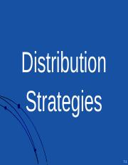 07 Distribution Strategies.ppt