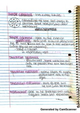 Types of Cells Notes