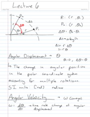 Physics Lecture 6