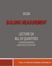2- Lecture on Bill of Quantities(2).pdf