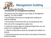 Internal Audit Lecture PPT
