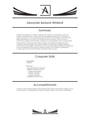 Final New Resume_ Design_Whitetail