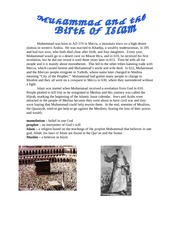 Step 4 Muhammad and the Birth of Islam