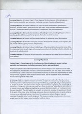 CEP 400 Chapter 3 learning objectives