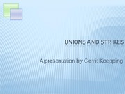 Unions_and_strikes
