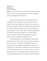 Annotated Bibliography Linking Paper