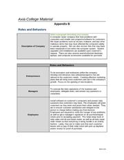 Week 4 Assignment_Roles and Behaviors Checkpoint 1