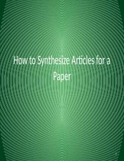 SEDAHow to Synthesize Articles.pptx