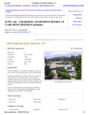 CHARMING APARTMENT HOMES AT CARLMONT HEIGHTS