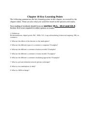 CIS3390_Chapter10_Key Learning Points.docx
