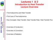 MEEN20050 2010-2011 L1-L2 Introduction to Heat Transfer