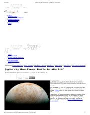 Jupiter's Icy Moon Europa_ Best Bet for Alien Life_