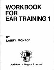 Ear Training 1 part 1