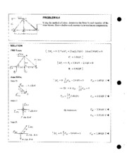 Truss Problems 2 - Method of Joints