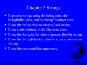 Java chapter 7