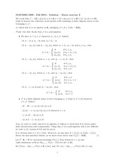 Finite Union Notes and Answers