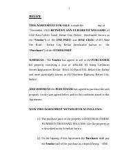 agreement of sale ann williams.docx
