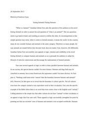 abstract elements in an essay