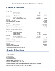 Taxation Answers 2010 Review