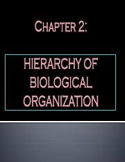 CHAPTER 2 HIERARCHY OF BIOLOGICAL ORGANIZATION.pdf