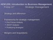 3-7_3-10 Strategic Management