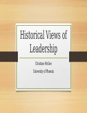 ldr 711a leadership theories and practice Theories of different leadership styles and their application  views of  leadership ldr/711a » leadership theories and practice.