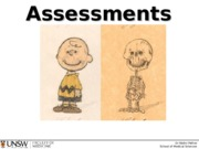 ANAT2511 overview of assessments