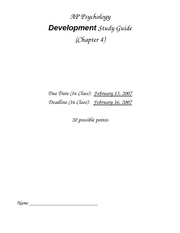 Development_Study_Guide